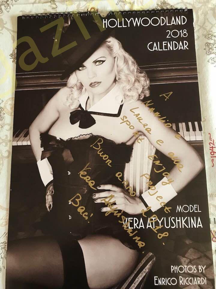 Vera Atyushkina Calendario.Calendario 2018 Hollywoodland Della Modella Russa Vera